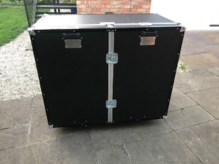 Folding flight case