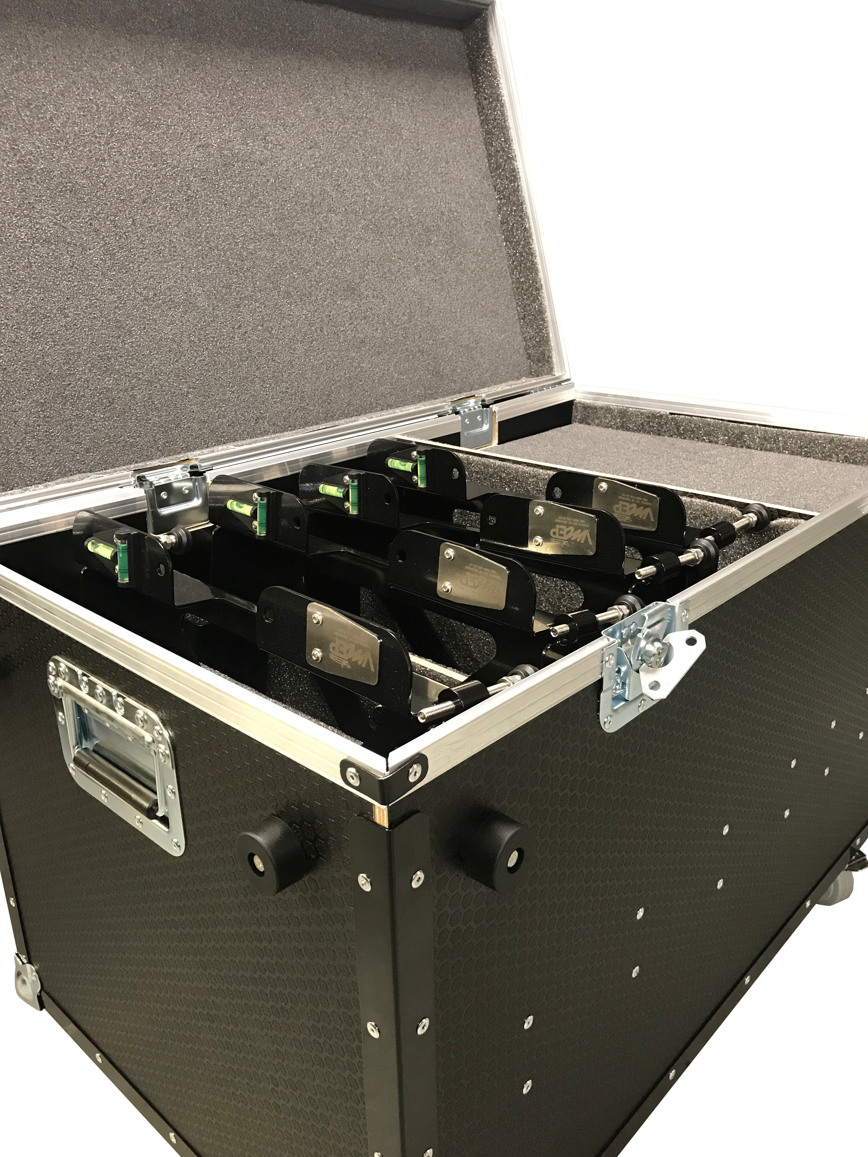 Pad leveller flight case