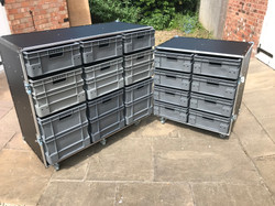 Euro container boxes