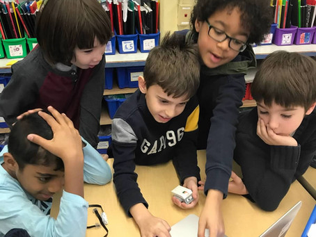 Solving problems with robots