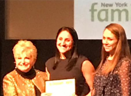 Ms DeBenedictis Wins the Blackboard Award!