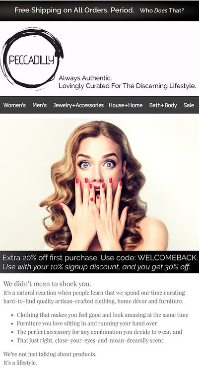 Email Campaign - Peccadilly Welcome_edit