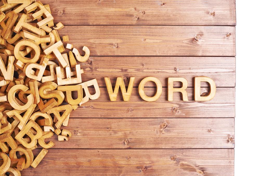 תמלול והקלדה של מילים