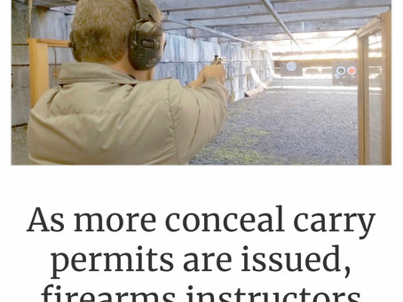 As more concealed carry permits are issued, firearms instructors concerned over lack of training