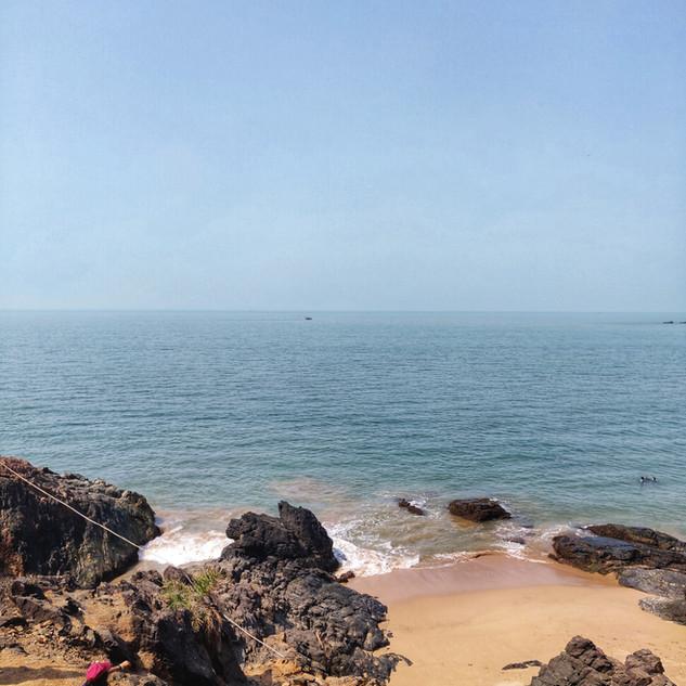 The amazing beaches of Gokarna