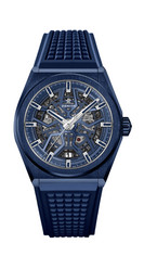 Defy Classic Blue Ceramic腕錶_建議售價NTD23500