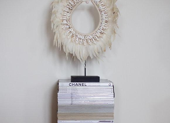Asmat Tribe Necklace - White