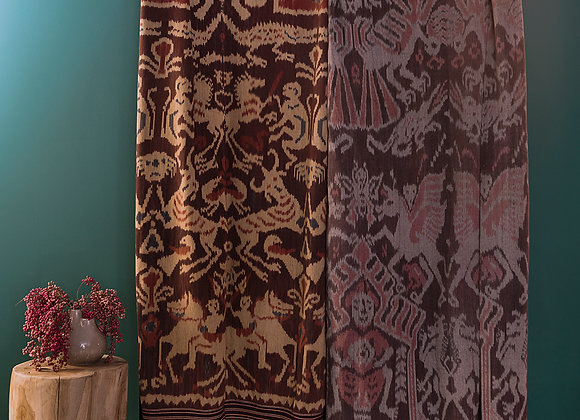 Antique Ikat Fabric