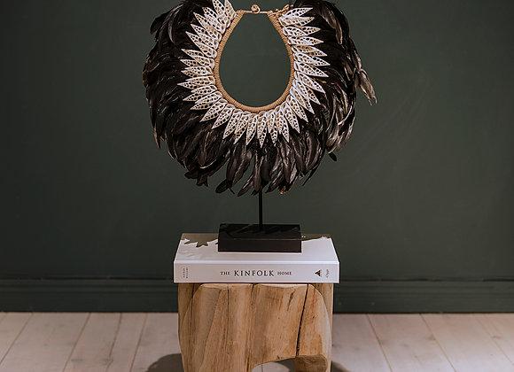 Asmat Tribe Necklace - Black
