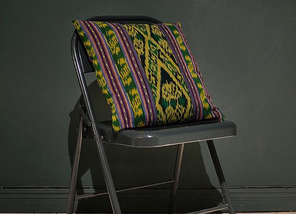 Ikat Cushion - Green