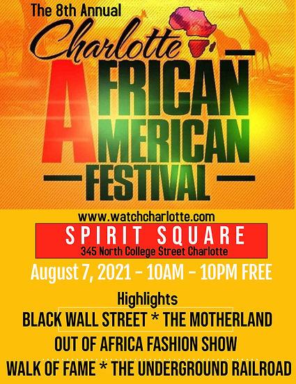 2021 Charlotte African American Festival