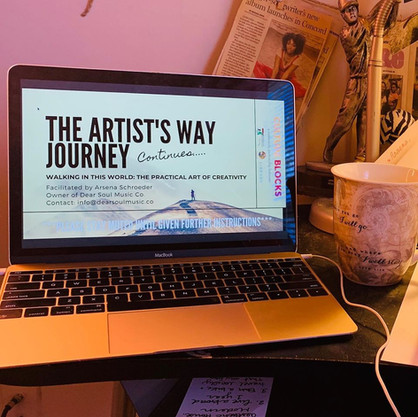 The Artists's Way Journey: Weekly Check-In