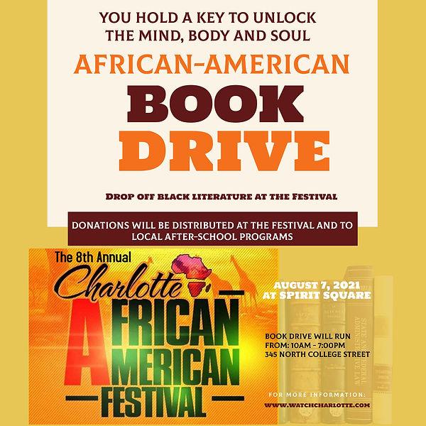 Charlotte African American Festival Book