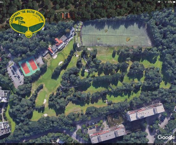 Golfpark De Biltse Duinen luchtfoto