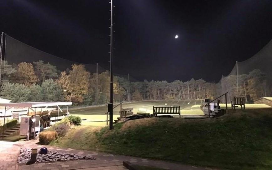 De Biltse Duinen in de avond