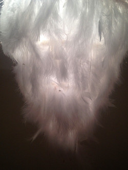 Feather Chandelier 4