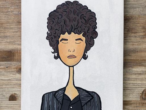 Bob Dylan, Rock Stars Portrait Series