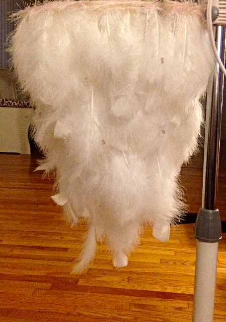 Feather Chandelier 3
