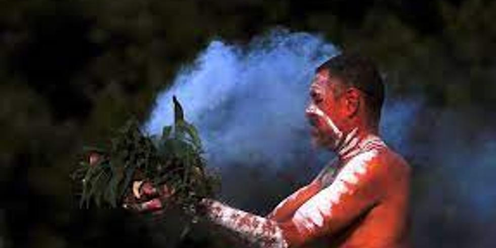 Smoking Ceremony with Aboriginal Elder