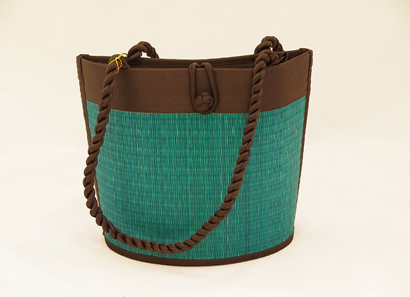 TASCHE CURVED DABBY PETROL