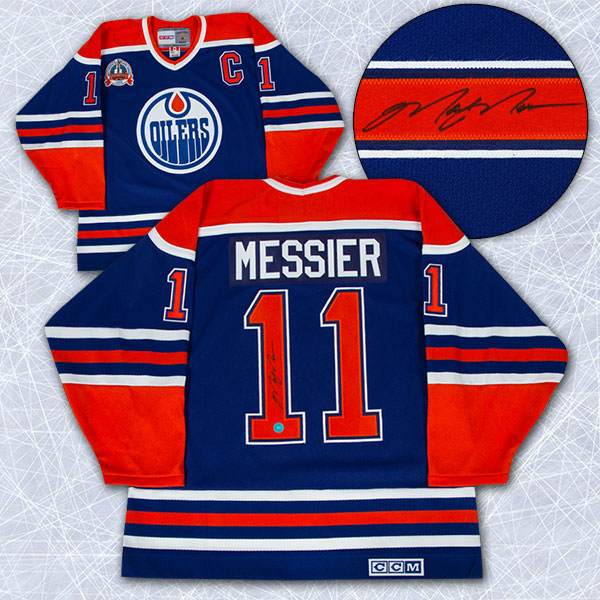 Mark Messier Oilers Jersey