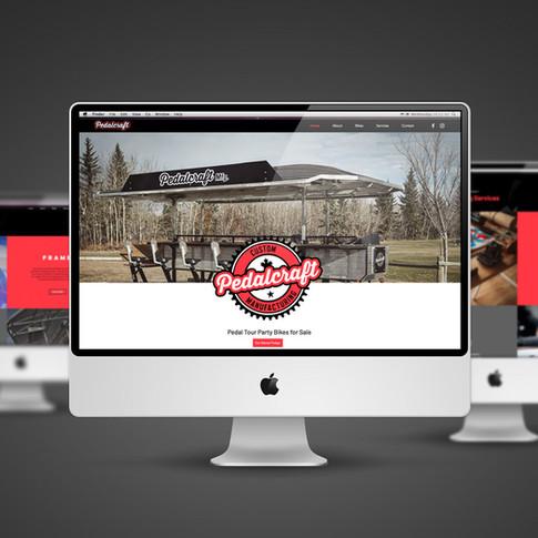 PedalCraft Manufacturing Website