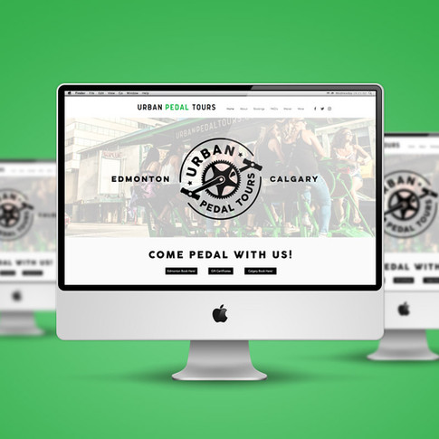 Urban Pedal Tours Website