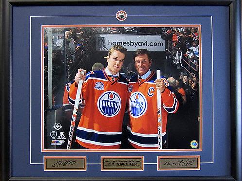 Connor McDavid & Wayne Gretzky