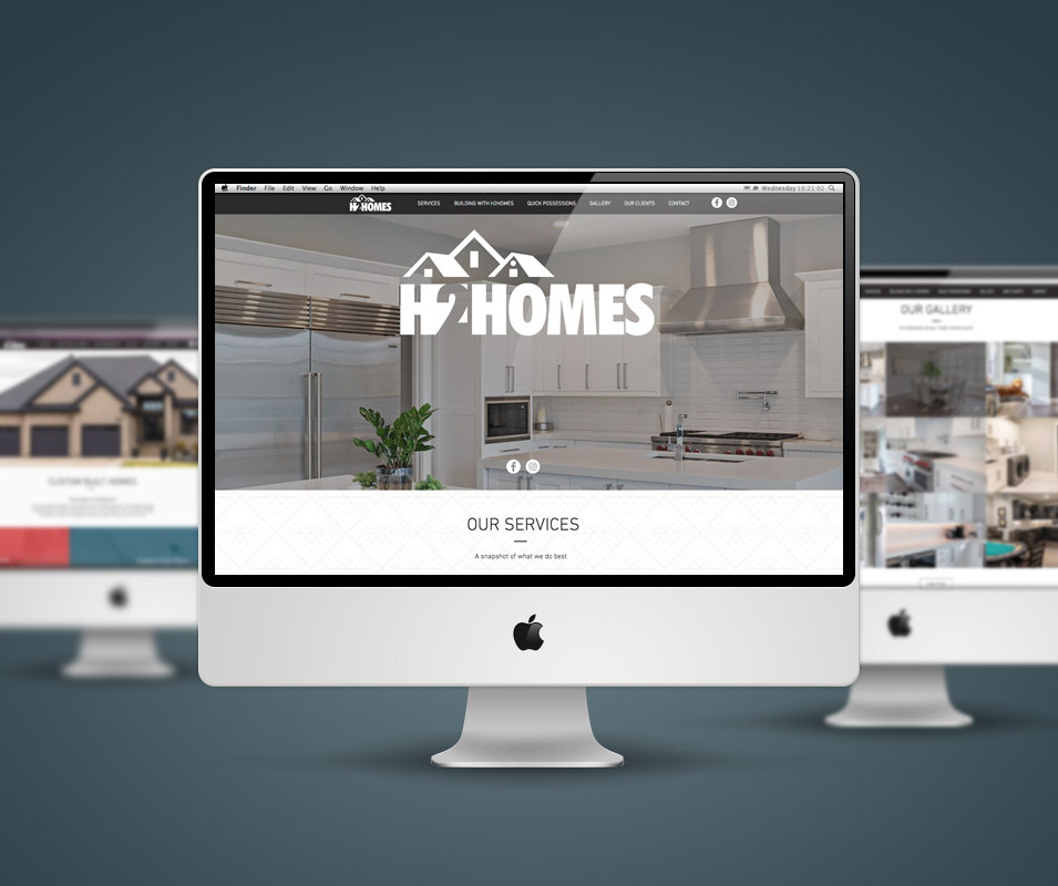 H2 Homes Website