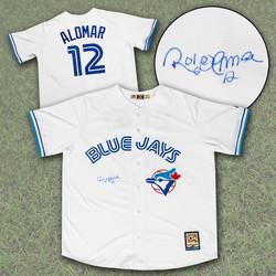 Roberto Alomar Blue Jays Jersey