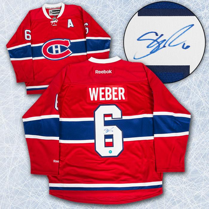 Shea Weber Canadians Jersey