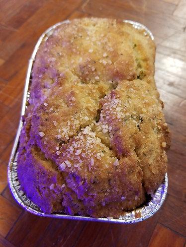 Keto - 3 Cheese and Garlic Mini Loaf - Asiago, Parmesan, Romano