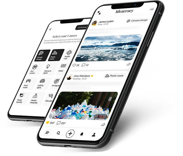 Ideacracy - A social media app