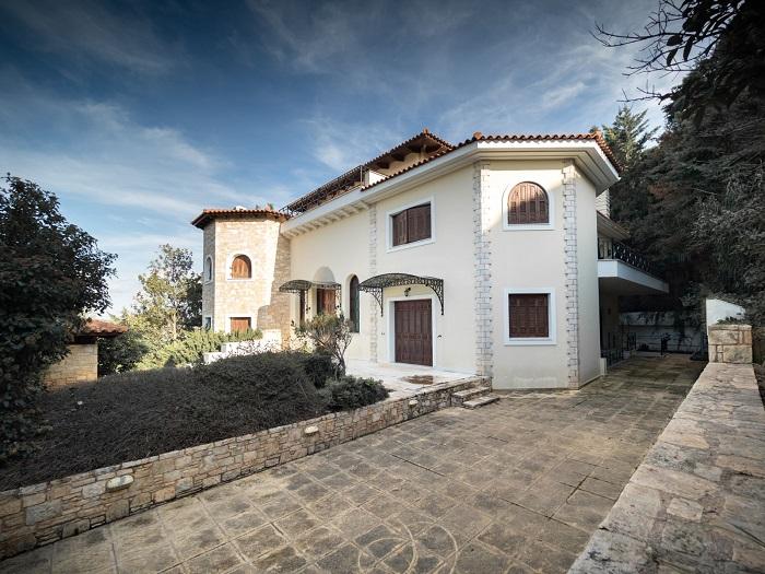 Lux Villa in Ekali-3