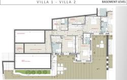 Lux Villa in Mykonos - Basement Level