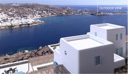 Lux Villa in Mykonos - Outdoor View5