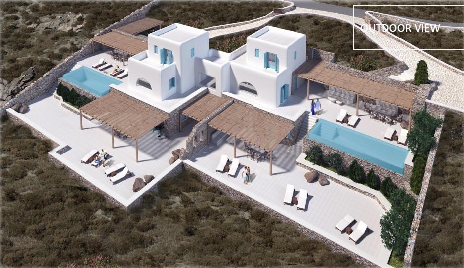 Lux Villa in Mykonos - Outdoor View3