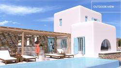 Lux Villa in Mykonos - Outdoor View2