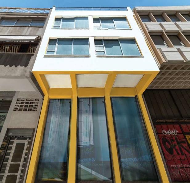 Building in Omonia Square