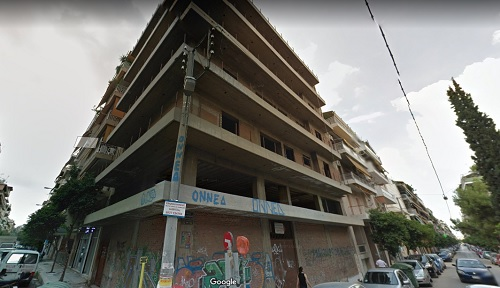 Unfinished Building in kallithea