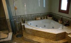 The big bathroom of the master bedroom