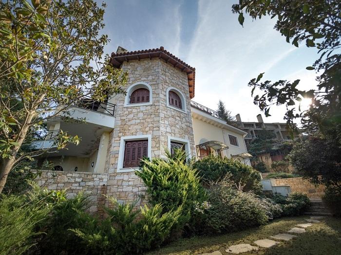 Lux Villa in Ekali-11
