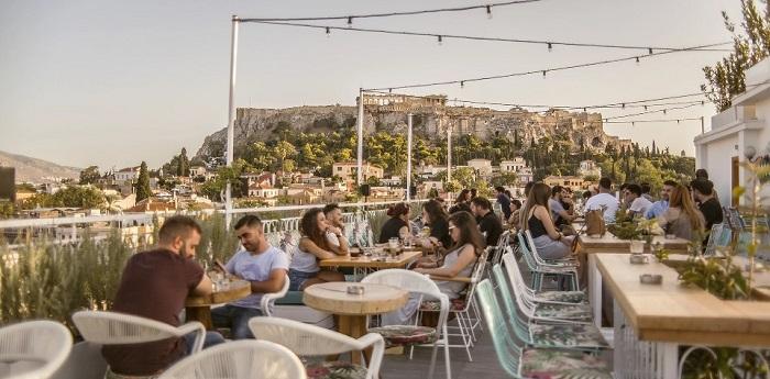 Roof garden Cafe