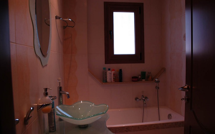 The bathroom shared with the 2nd and the
