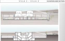 Lux Villa in Mykonos - Elevation and Sec