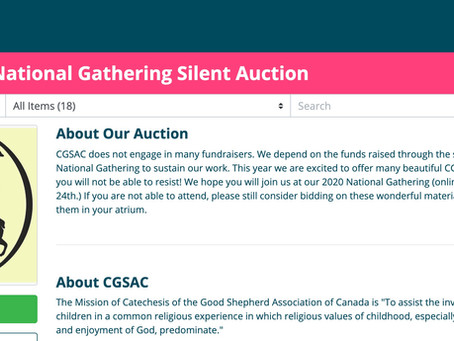 Final Hours of Silent Auction!