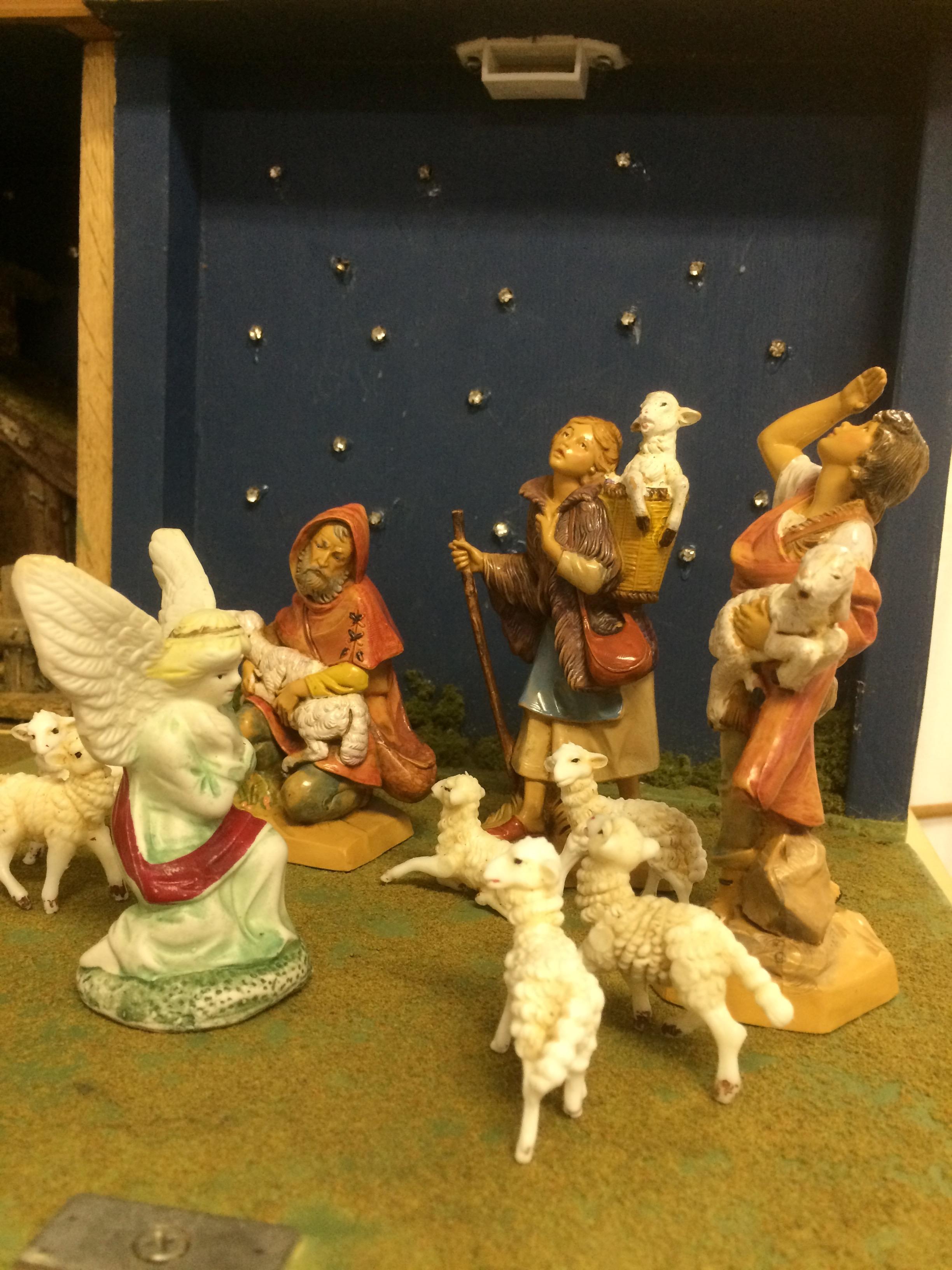 The Shepherds in the Field