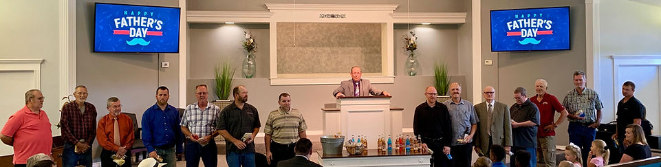 Church in Searcy celebrates Father's day