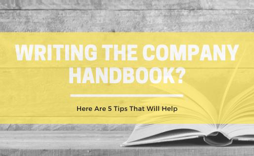 5 Tips for Writing the Company Handbook