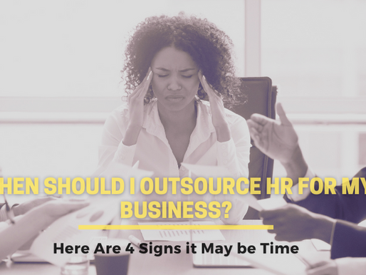 Is it Time to Outsource HR For Your Small Business?